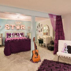 Cute Chairs For Teenage Bedrooms Traditional Occasional Rock Star Room - Transitional Kids Cleveland By Taylor Design Studio