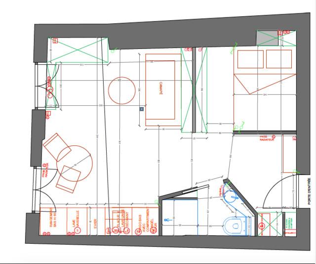 studios de 20 m amenages sous les toits