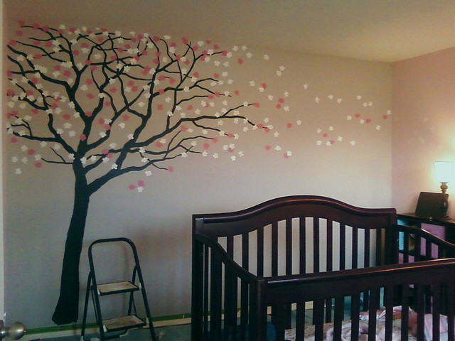 Global Views Home Decor Cherry Blossom Nursery - Traditional - Kids - New Orleans