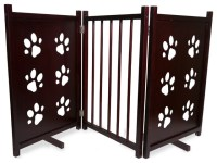 Paw Pet Gate - Traditional - Dog Gates - by Furhaven
