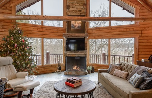 Cabin Gas Fireplace