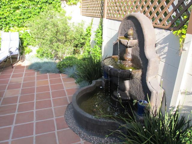 Spanish Style Backyard Redo  Mediterranean  Patio  Los Angeles  by Lori Fienberg Interior