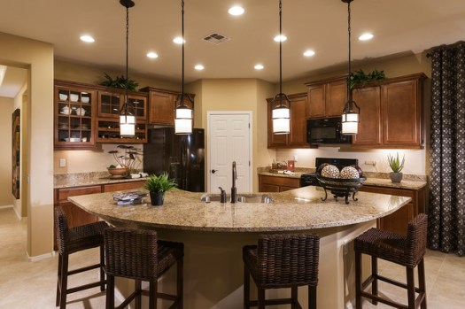 Pulte Homes Enchantment Model Home Vail Arizona Contemporary Kitchen