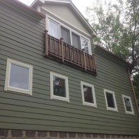 less expensive balcony or railing for french doors