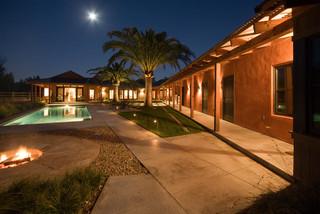 Contemporary Farmhouse Contemporary Pool Sacramento