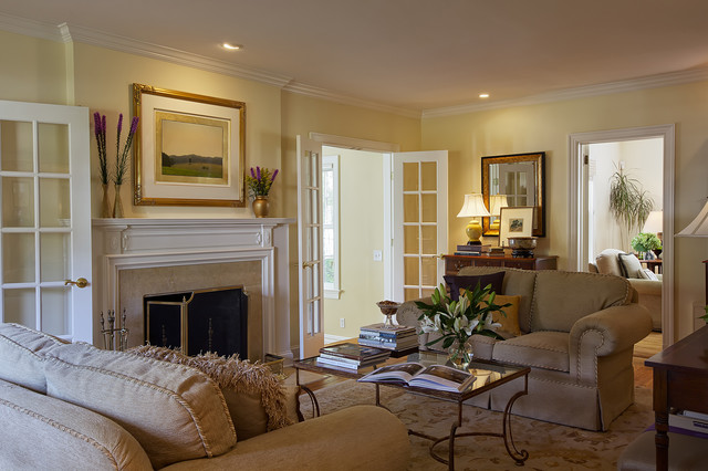Elegant Edgemont By B Fein Interiors Eclectic Living Room New