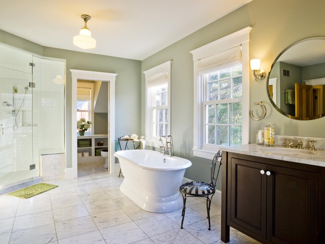 Farmhouse Revival  Farmhouse  Bathroom  Burlington  by