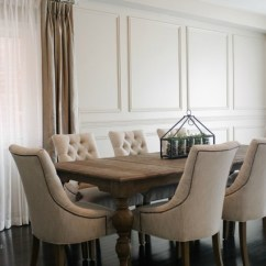 Brushed Nickel Pendant Lighting Kitchen Charlotte Cabinets Restoration Hardware Inspired Diy Wainscoting & Chair Rail ...