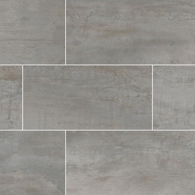 oxide magnetite 24x48 matte porcelain tile sample