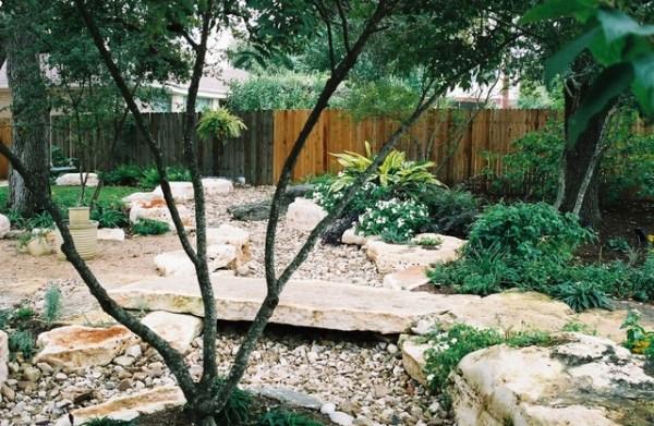 dry creek beds used drainage