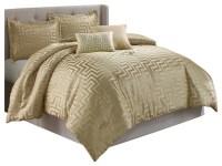 Waverly 5-Piece Comforter Set - Transitional - Comforters ...