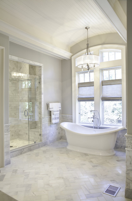 Elegant Traditional Master Bath  Traditional  Bathroom