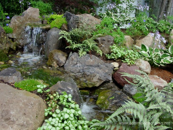 pondless waterfalls water features