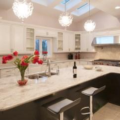 Eat In Kitchen Sets Roll Away Island White Glamorous Modern - ...