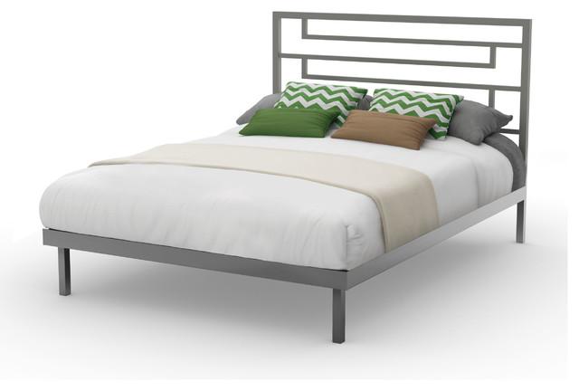 Amisco Amisco Temple Metal Platform Bed