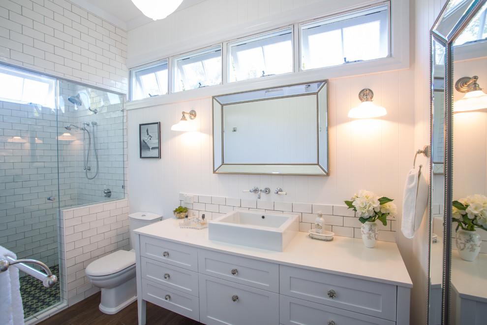 Hampton Style Bathroom Traditional Bathroom Brisbane By Makings Of Fine Kitchens Bathrooms
