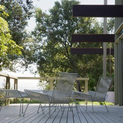 Hanging Chair For Kids Dining Covers Grey Mid Century Modern Outdoor Deck - Los Angeles By David Lauer Photography