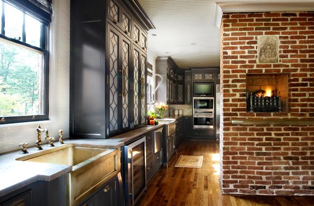 Tudor Revival Estate Full Home Design Traditional