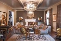 Pasadena Transitional Style Italian Revival Formal Living ...