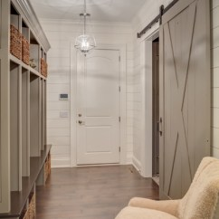 Modern White Office Chairs Light Oak Dining Shiplap Mud Room - Farmhouse Entry Cleveland By Laura Of Pembroke