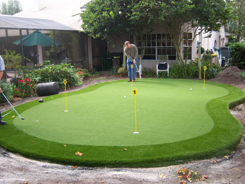 putting green top of septic