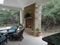 Outdoor Fireplaces ans Fire Pits - Rustic - Patio - Austin ...