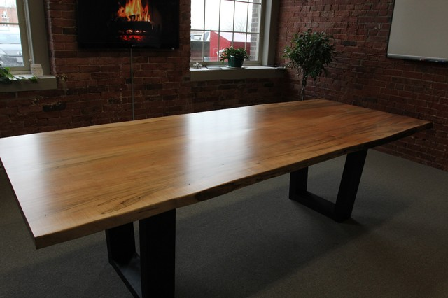 Toronto Live Edge Wood Dining Room Tables  Contemporary