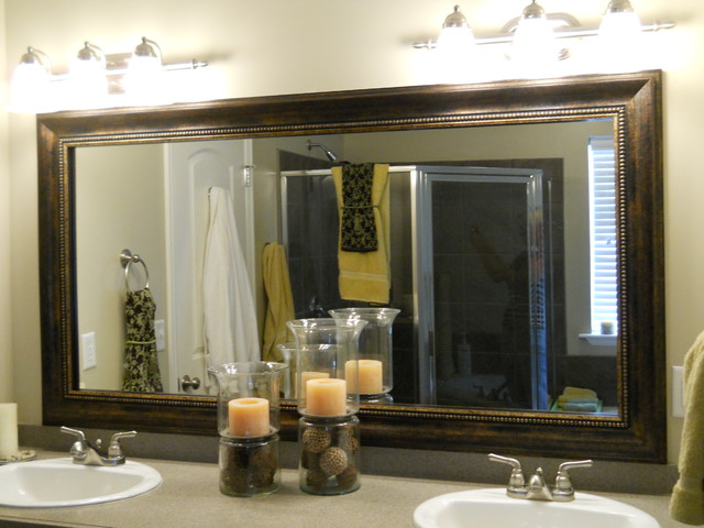 Mirror Frame Kit  Traditional  Bathroom Mirrors  Salt