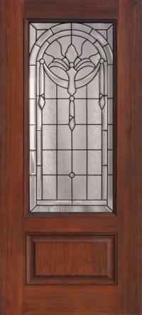 Palacior Decorative Glass Front Door - Front Doors ...
