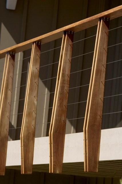 Mid Century Modern Midcentury Landscape San Luis   Mid Century Modern Banister
