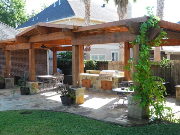 pergolas and patio covers - contemporary