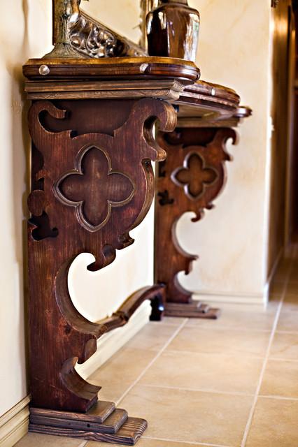 Gothic Style Furniture Mediterranean Entry Los
