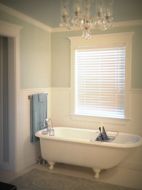 100 Year Old House Renovation Traditional Bathroom Dallas