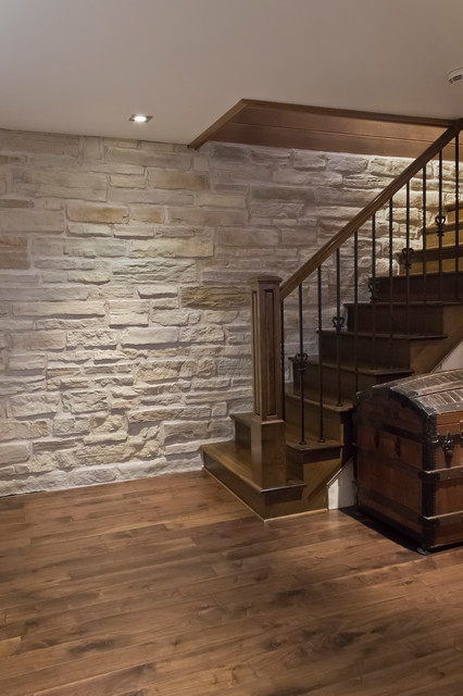 Decorative Wall Products  Rustic  Basement  Montreal