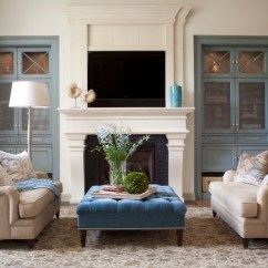 How To Decorate A Large Living Room With Little Furniture Sofa Covers 13 Strategies For Making Feel Comfortable Transitional By Exquisite Kitchen Design
