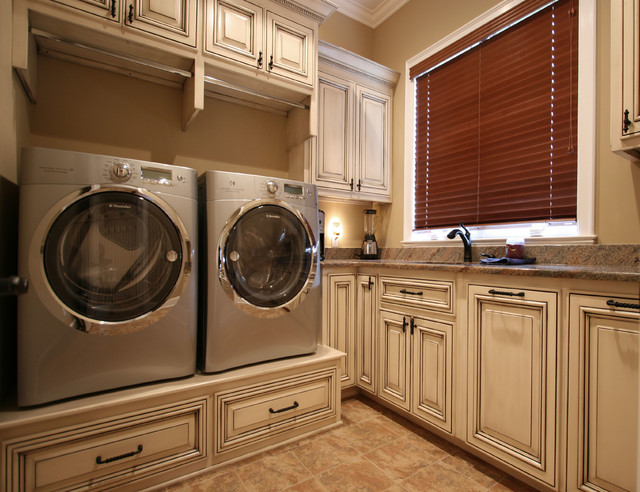 Wash Sort Stack Traditional Laundry Room Charlotte By Walker Woodworking