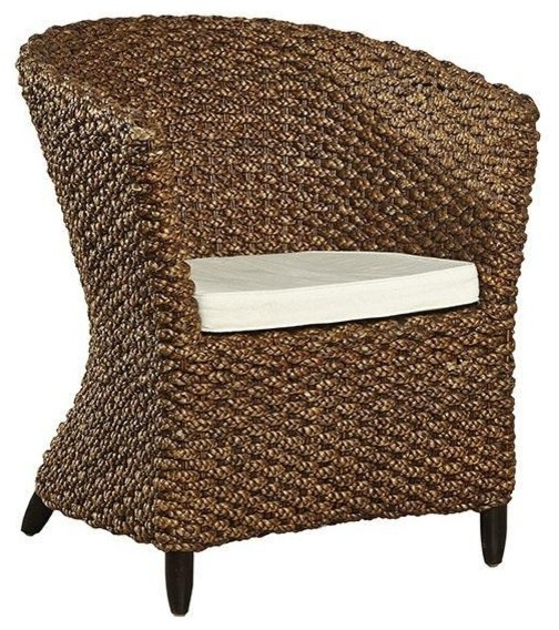 seagrass arm chair stand up desk new hand woven tropical dining chairs by euroluxhome