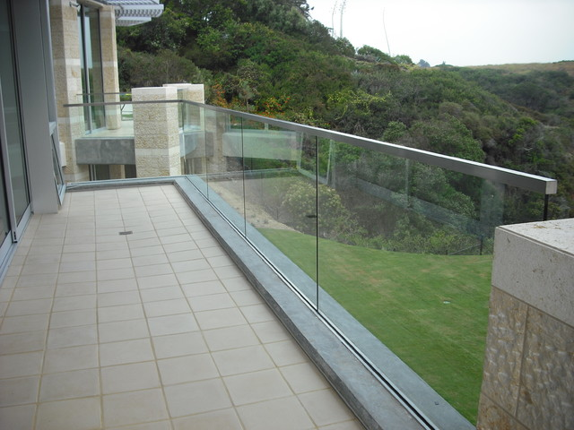 Stainless and Glass Exterior