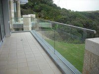 Stainless and Glass Exterior - Contemporary - Patio - San ...