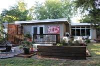 Modern Backyard Remodel - Midcentury - Exterior - Other ...