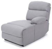 Susana Comfort Modern Fabric Chaise - Contemporary ...