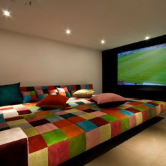 Movie Chairs For Sale Retro Lawn A House At Caesarea (architects: V-studio) - Modern Home Theater Tel Aviv By Moshi Gitelis ...