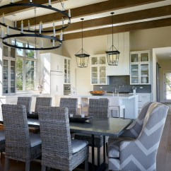 Hanging Lights In Kitchen Cabinets Sale Lake Travis Lakehouse - Transitional Dining Room ...