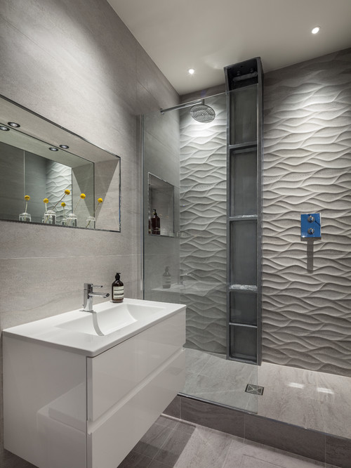 Contemporary Bathroom By East Midlands Interior Designers Decorators Michelle Chaplin Interiors