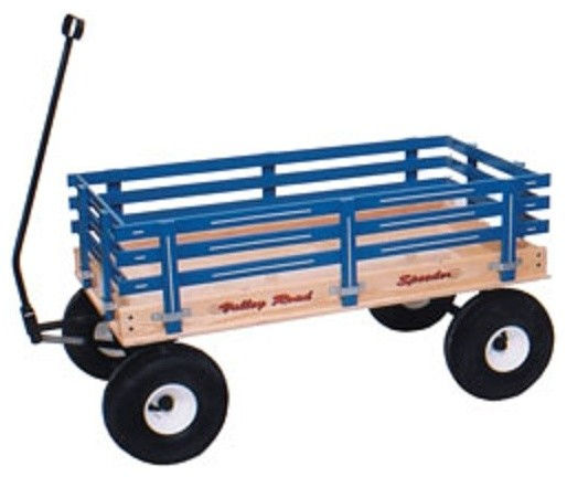 Amish Handcrafted Kids Wagon  Beach Style  Kids Toys And Games  by Saving Shepherd