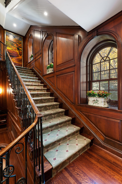 Golden Square Mile Mansion  Montreal  Victorian  Staircase  Montreal  by David Giral