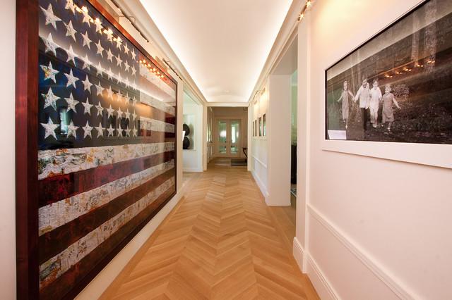 Rift & Quartered White Oak traditional-hall