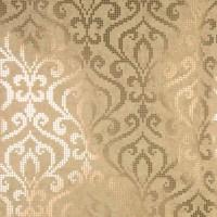 Venus Brass Foil Mini Damask Wallpaper - Contemporary ...
