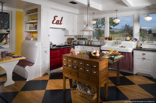 kitchen islands with breakfast bar retro white 15 funky that will make you jump on the ...