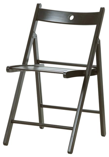 folding chair lulu wedding rental cost terje - black bauhaus-look klappstühle von ikea